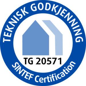 SINTEF TG 20571 Logo